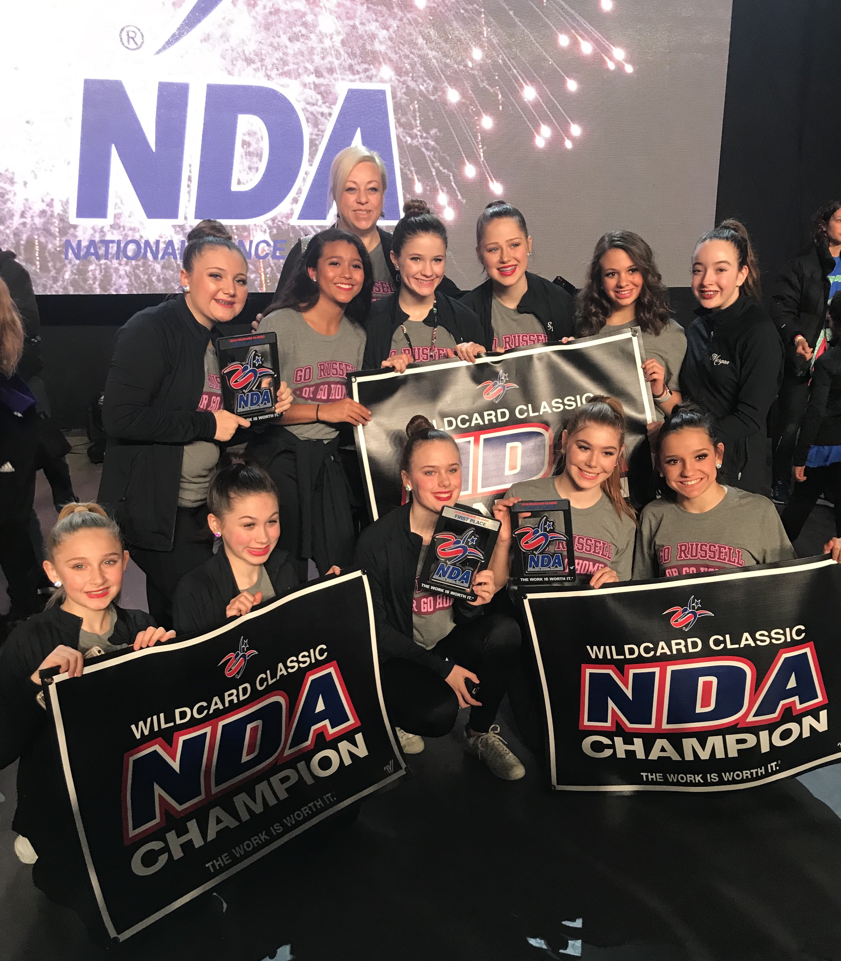 rms dance team at nationals