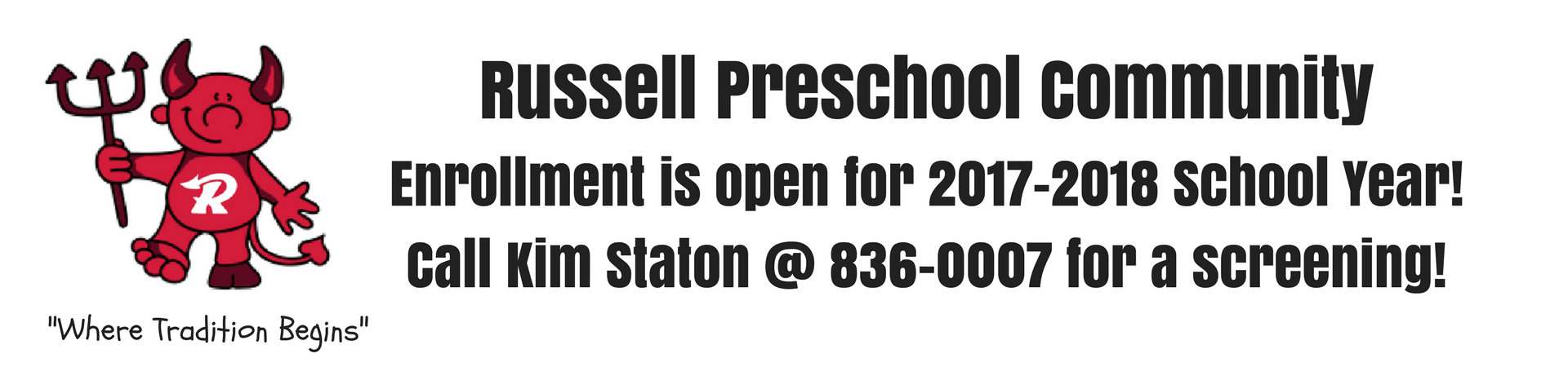 Russell Preschool Community Information