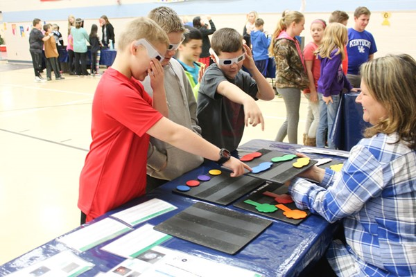 Students learn about space and science with COSI